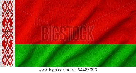 Ruffled Belarus Flag