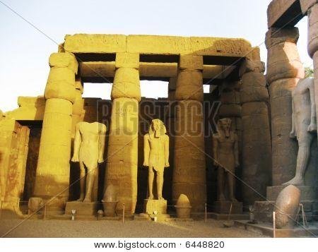 Luxor Temple - Detail