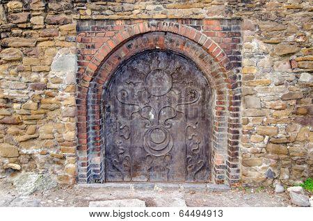 Old woodcarved door