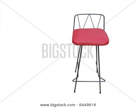 Red Barstool