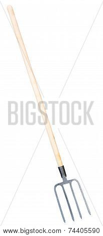 Pitchfork Isolated On White Background