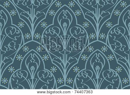 Seamless Elven Pattern