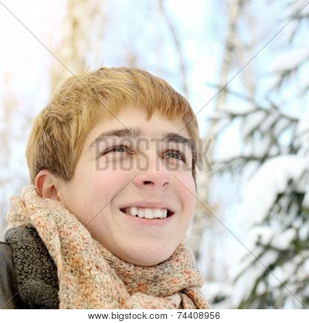 Teenager In Winter