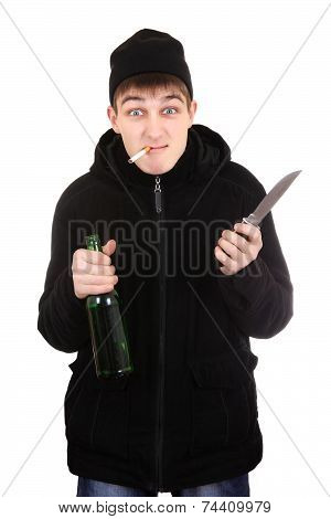 Hooligan With A Knife