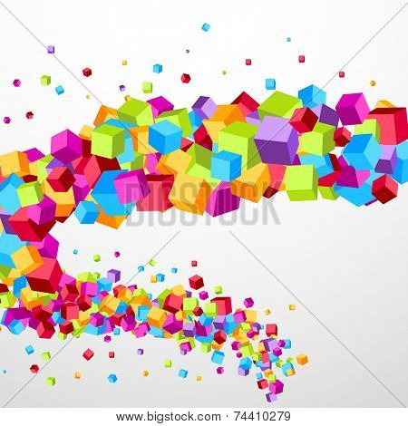 Bright Cube Fly Perspective Template