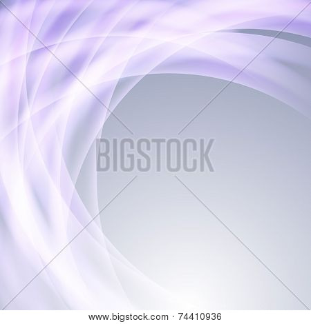 Bright Glow Line Abstract Background Template