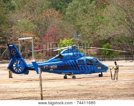 Indian Government Chopper