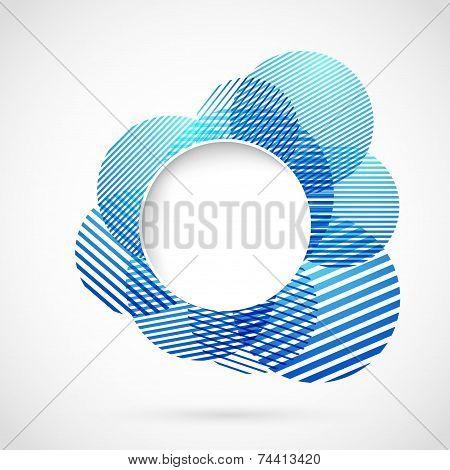 Blue Sign Design Element Notifier