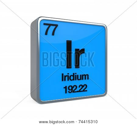 Iridium Element Periodic Table
