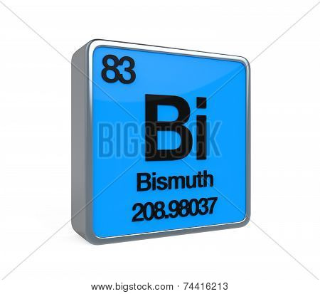 Bismuth Element Periodic Table