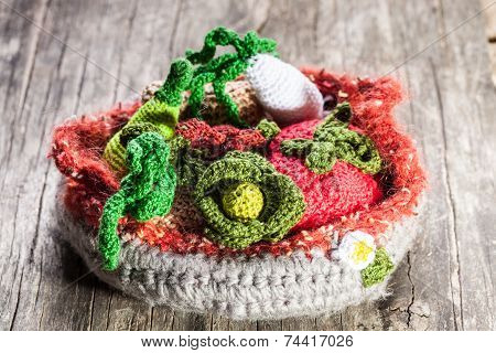 Crochet Vegetables