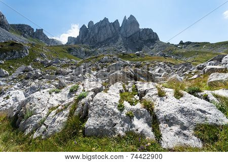 Mountain Landscape - Inaccessible Peaks