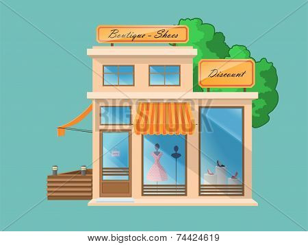 Boutique and Shoe Store
