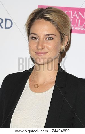 LOS ANGELES - OCT 21:  Shailene Woodley at the
