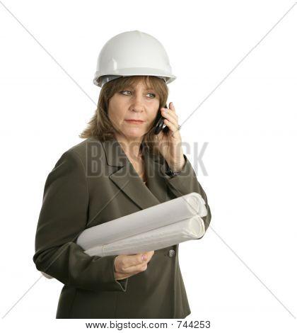 Female Engineer Discusses Plans