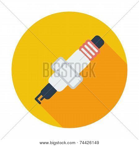 Sparkplug single icon.