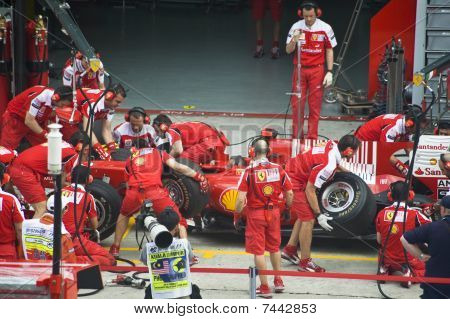 Scuderia Ferrari Marlboro Formula One Racing Team