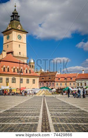 The Council Square, Brasov, Romania