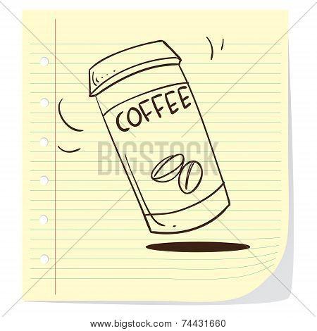 Coffee To Go Doodle