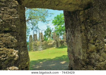 old church ruins of Camiguin
