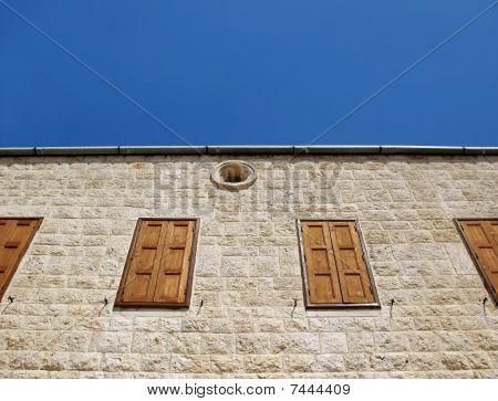 Lebanese Church Closed Windows