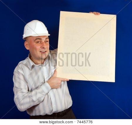 Caucasian Foreman