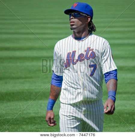 NY Mets Shortstop, Jose Reyes