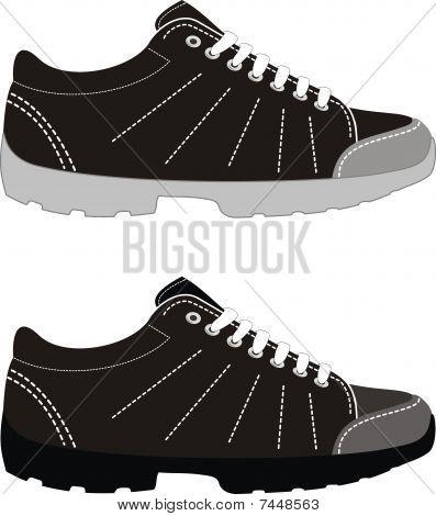 Sports footwear - trekking boots