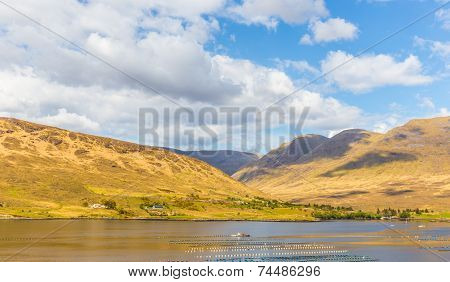 Killary Harbour And Maumturks In Connacht