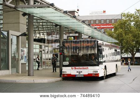 Bus station Hamm