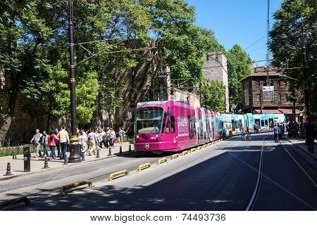 Colorful Tram
