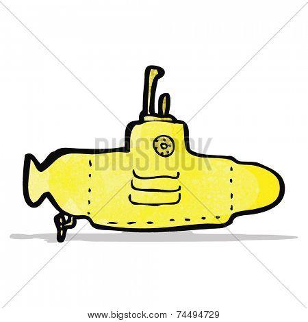 cartoon yellow submarine