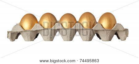 Tray Of Golden Eggs