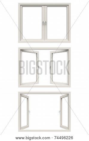 white window frame
