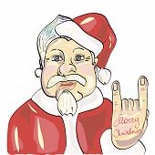stock photo of gnome  - ChrChristmas characters - JPG