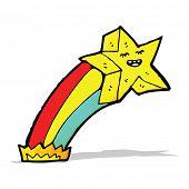 picture of shooting stars  - cartoon shooting star - JPG