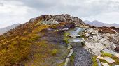 picture of galway  - Diamond Hill summit in Connemara in Galway - JPG