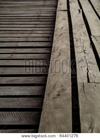 Old Wooden Bridge