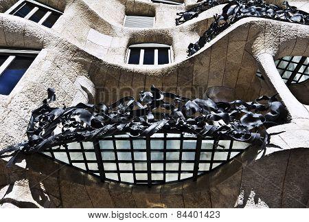 Fairytale house facade Casa Mila