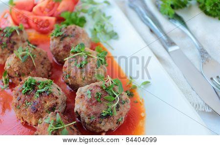 Tasty meatballs