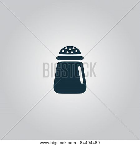 Salt or pepper - Vector icon isolated