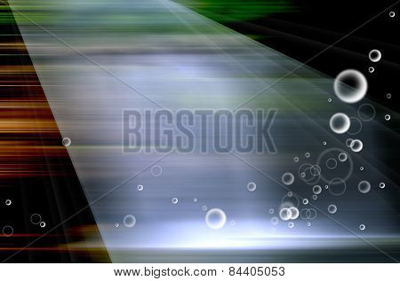 Bubble Speed Background Motion Blur