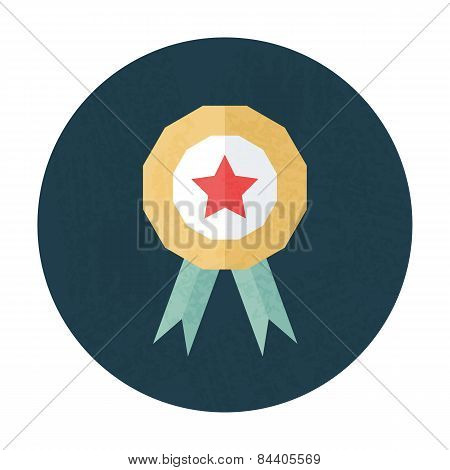 Award Pencil Texture Stylized Circle Icon