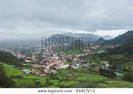 Village  in the mountains of Tenerife