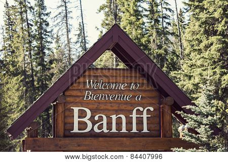 Welcome To Banff National Park