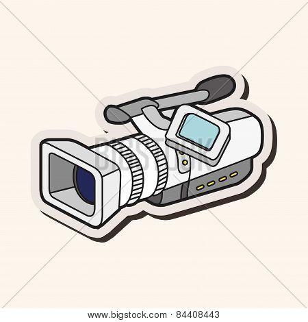 Video Camera Theme Elements Vector,eps
