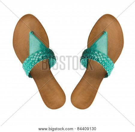 Fashionable women flip-flop shoe