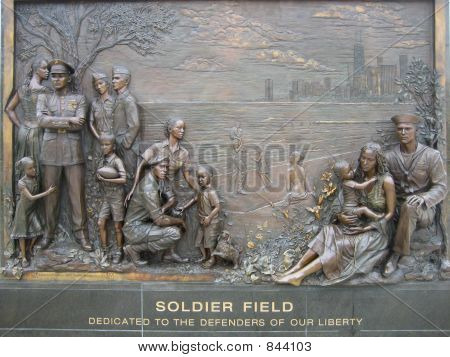 Soldier Field Memorial