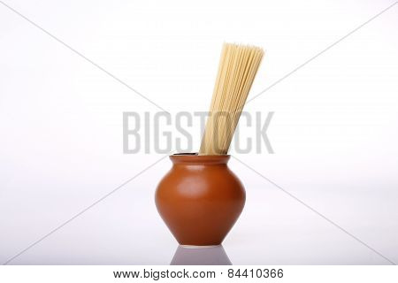 Italian Spaghetti Or Noodle Macaroni Pasta