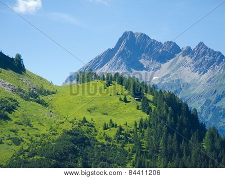 impressing mountain landscape